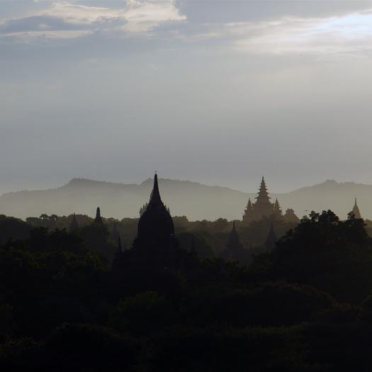 pagan sunset - Myanmar