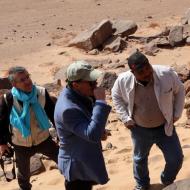 visite ambassadeur de France dans le Wadi Subeira