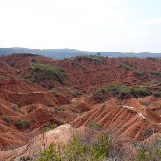 paysage de yanhuitlan, oaxaca, Mexique